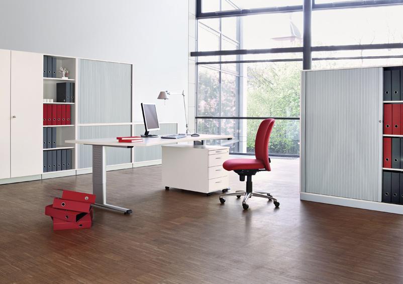 Home Office Möbel - Höhenverstellbarer Schreibtisch: Ergo
