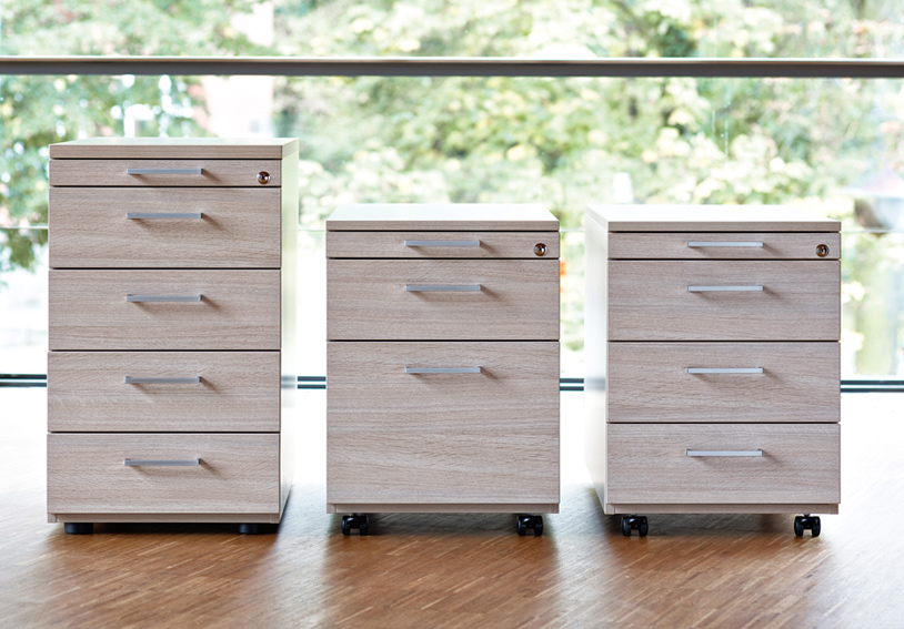 Home Office Möbel, Büromöbel - Rollcontainer, Standcontainer ...