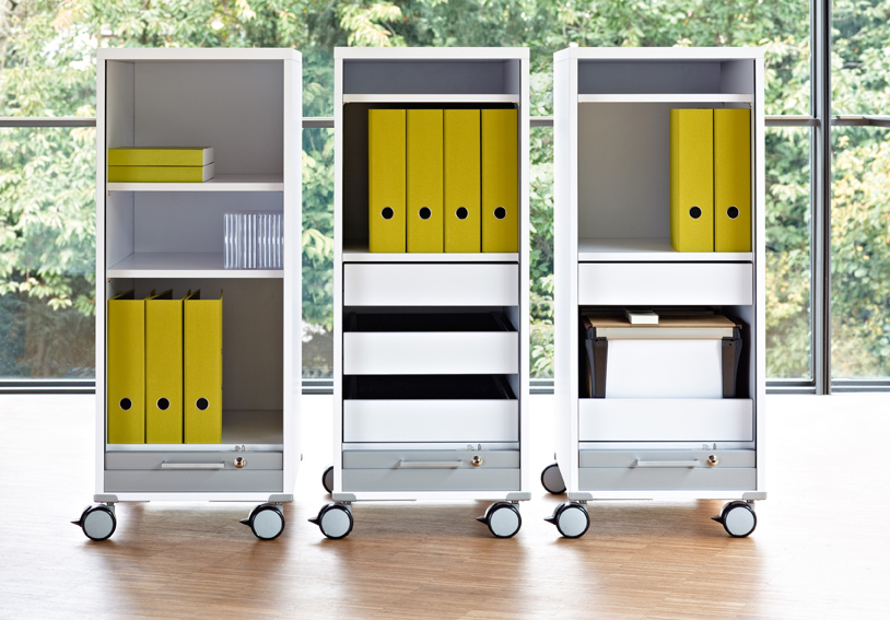 home office m bel b rom bel rollcontainer. Black Bedroom Furniture Sets. Home Design Ideas