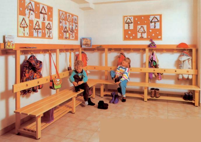 kindergartenm bel garderoben trennw nde. Black Bedroom Furniture Sets. Home Design Ideas