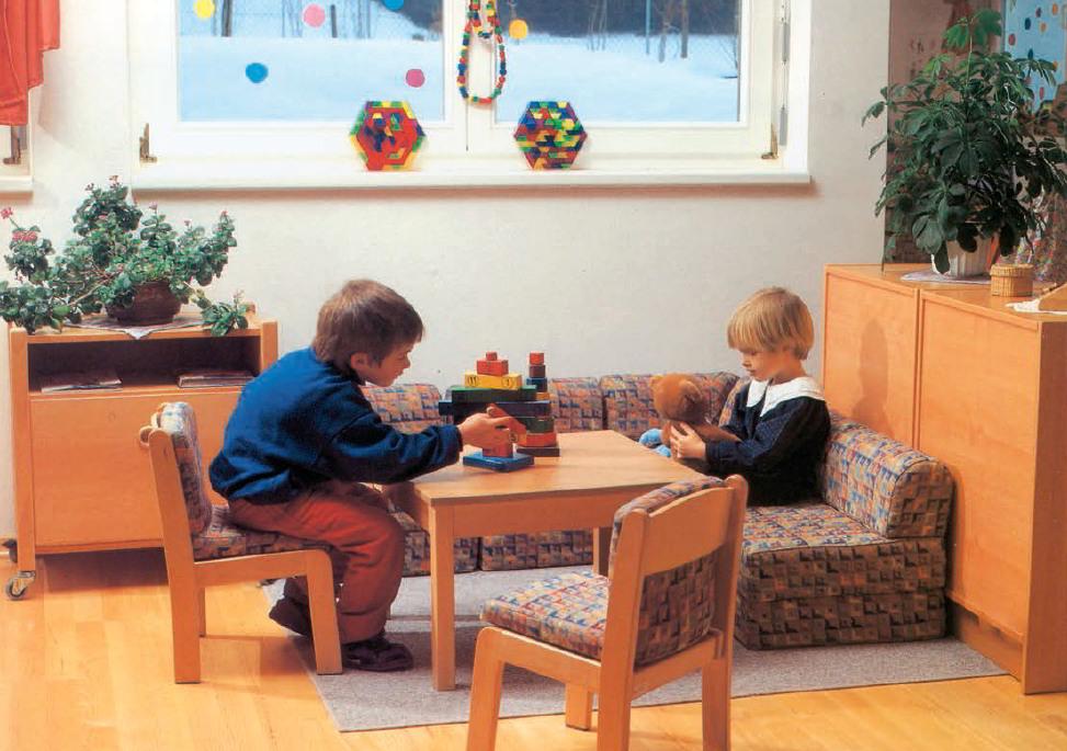 Kindergartenmöbel: Puppenecken. Möbel für Kindergarten, KiTas