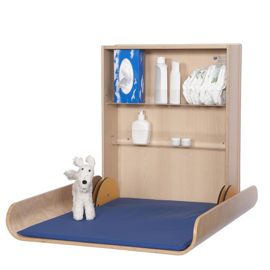 wickeltisch kawaform m bel f r kindergarten kinderkrippe. Black Bedroom Furniture Sets. Home Design Ideas
